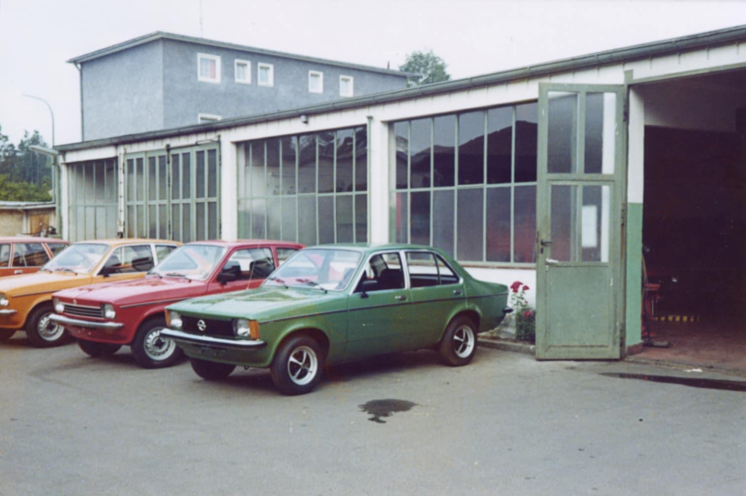 alte neue Werkstat Autohaus Günther
