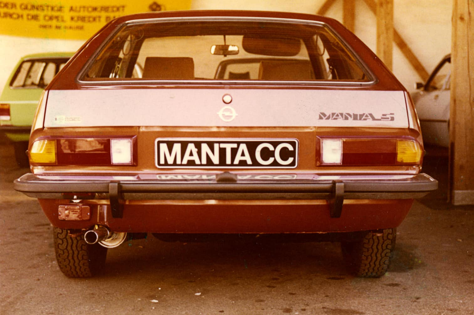 Opel Manta Traunreut